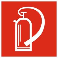 Brandschutzzeichen - Feuerlöscher