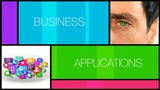 Business applications b2b pro software program animation video