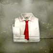 White Dress shirt, old-style