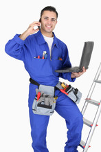 Électricien et son équipement