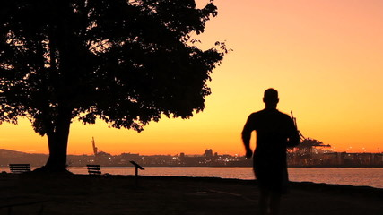 Stanley Park Morning Run, Vancouver