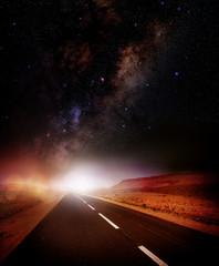 Strada Via Lattea Cielo