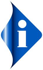 Corner Information Blue