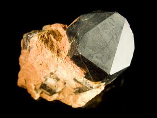 Black quartz crystal
