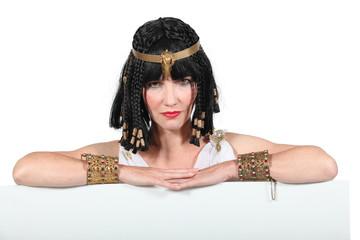 Woman in eygptian costume