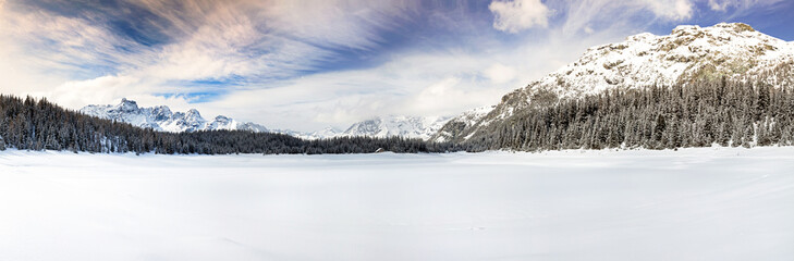 panorama Lago Palù - Valmalenco (IT)