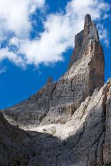 Vajolet-Türme in der Rosengartengruppe, Dolomiten