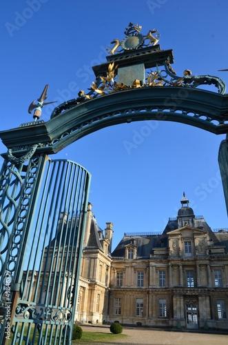 ville Maisons Laffite,château, portail, entrée principale