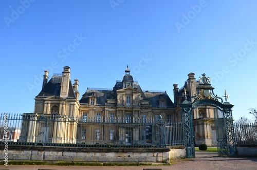 Maisons Laffite, vue générale du château