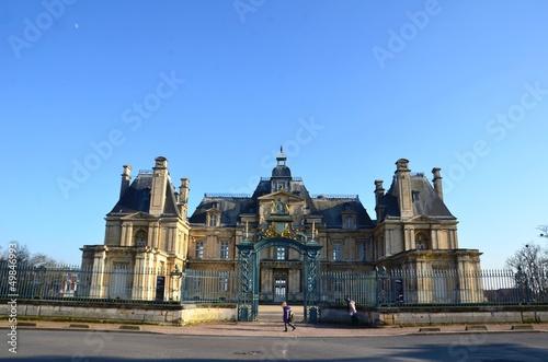 Chateau de Maisons Laffite, vue général, extérieur