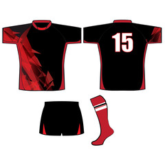 rugby kit uniform design