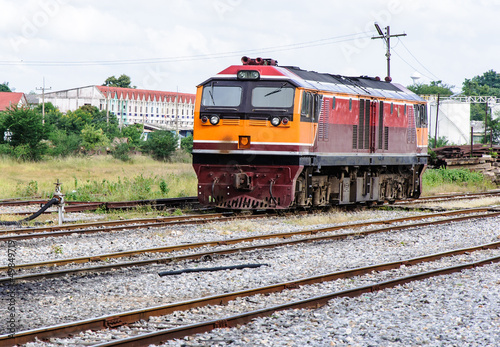 New diesel electric locomotive