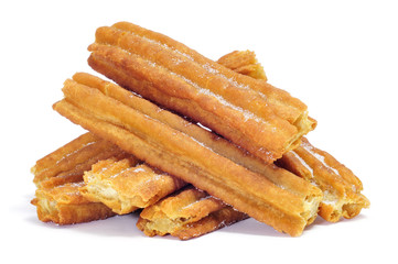 porras, thick churros typical of Spain