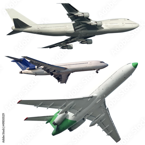 Isolated Commercial Aircrafts