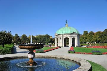 Pavillion im Residenzgarten München