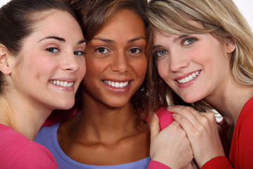 Three female friends