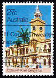 Postage stamp Australia 1982 Rockhampton Post Office, 1892