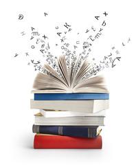 Livre et Litterature et Alphabet