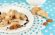 Aromatic cookies cantuccini