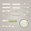 User interface elements set