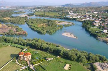Buna River, Shkodra - Albania