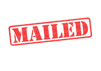 MAILED Stamp