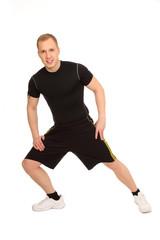 seitliches Stretching