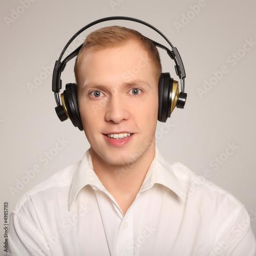 freundliches Musikhören