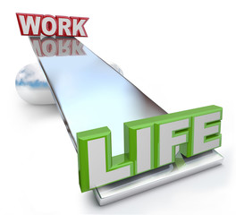 Work Versus Life Balance on See-Saw Scale