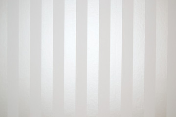 Striped satin background wallpaper - White