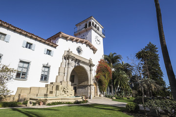 Santa Barbara California Historic Courthouse