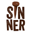 Vintage Christian design, Sinner
