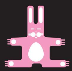 Hug me easter bunny