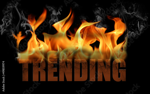 Word Trending in Fire Text