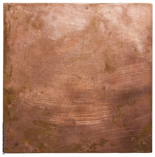 Metalowy talerz