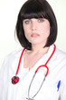 Portrait of a female hospital doctor