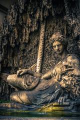 Quattro fontane. Roma. Italy.