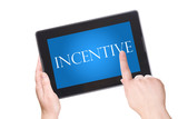 Electronic notebook PC. Incentive poster