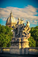 Ponte Sant Angelo. Roma. Italy.