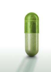 Pille - Kapsel grün