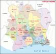 Côte d'Ivoire administrative divisions