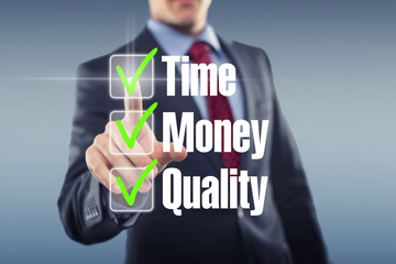 Time Money Quality