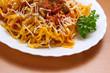 Pasta con carne - Meat pasta