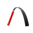 Whip with red handle