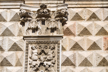 Diamond palace. Ferrara. Emilia-Romagna. Italy.