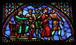 Jesus on Good Friday - Stained Glass
