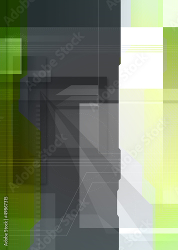 digital abstract design