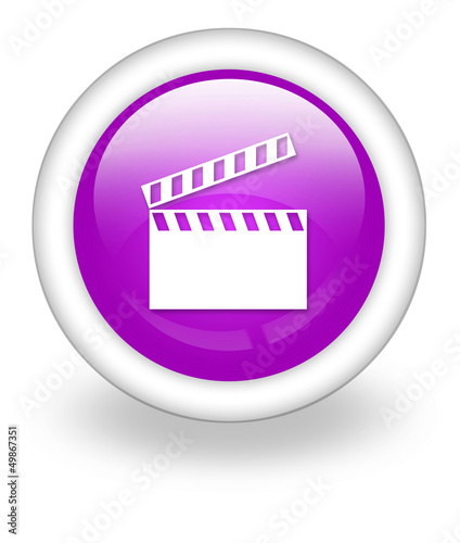 "Violet Icon ""Clapperboard"""