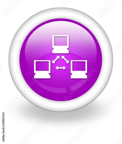 "Violet Icon ""Network"""