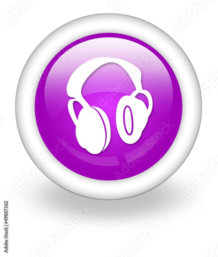 "Violet Icon ""Headphones"""